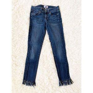 🔥Paige Blue Kylie Crop Jeans size 24